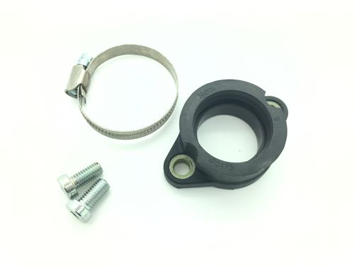 Carburetor flange KOK assembly with clamp and screws per unit
