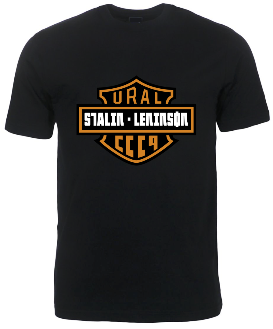 TEE-SHIRT FIRSTRACER URAL MOTORCYCLES STALIN