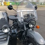 BULLE MEDIUM WINDSCREEN URAL