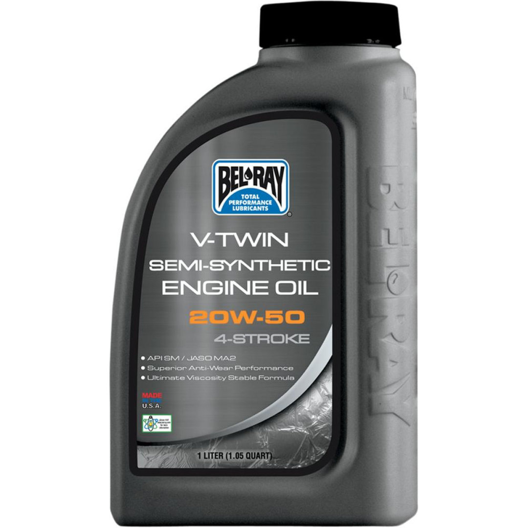 ENGINE OIL VTWIN FLAT-TWIN 20W-50 1 LITER BEL-RAY