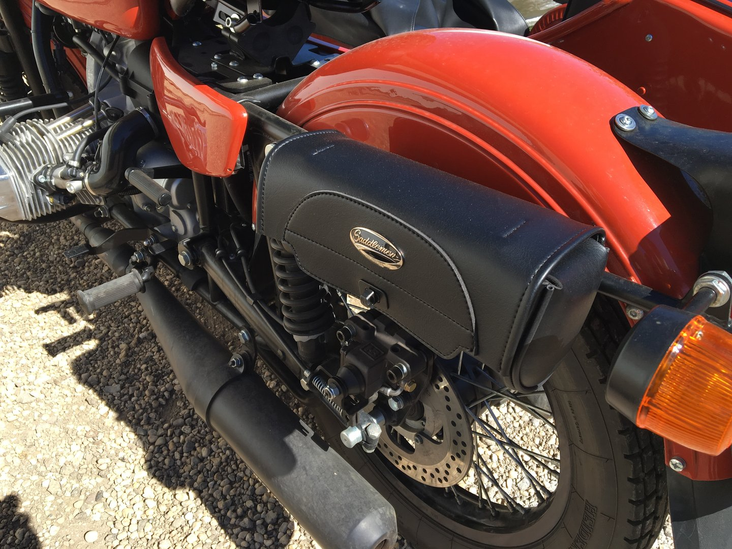 Travel Ural Side Car Motorcycles Europe France Lorraine