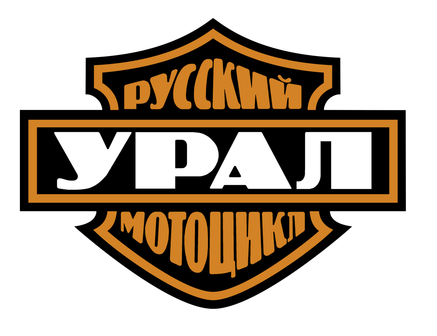 STICKERS URAL MOTORCYCLES YPAN 72 MM X1