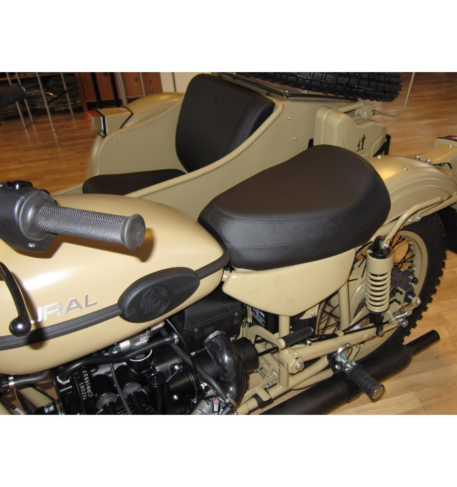 New Ural seat very comfortable large seat with logo Ural