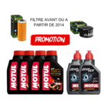 KIT PROMOTION REVISION URAL MOTUL 4x20W50 7100 + 2L GEAR BOX 80W90 + FILTER