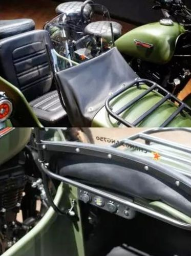 Pare brise Side car ChangJiang panier