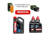 KIT REVISION URAL MOTUL 4L 20W50 3000 + 2L GEAR BOX 80W90 + FILTRE