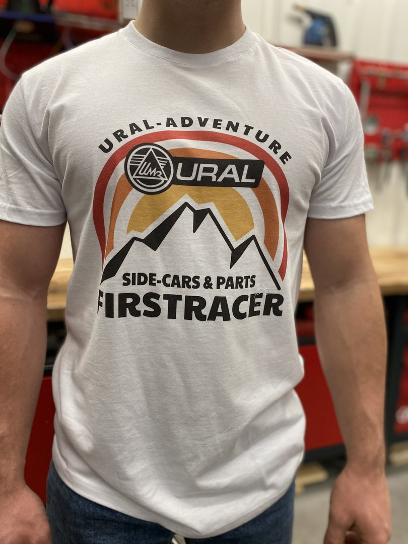 TEE-SHIRT URAL MOTORCYCLES MOUNTAIN COLOR